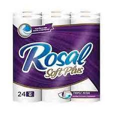 Papel Rolsa Plus 24 unidades Tamaño g