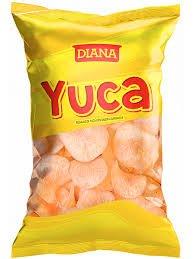 Yuca con saor a barbacoa diana 110 g